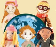 Global Green Pals - Organic Dolls
