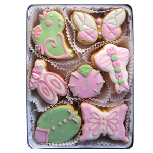 Organic Cookies Gift Set - Winged Wonders