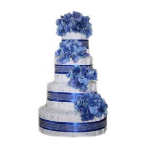 Sky Blue Cake Images : Cake Blue
