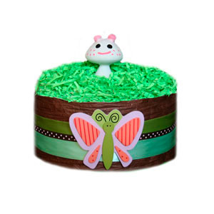 Organic Butterfly Delight Diaper Pound Cake