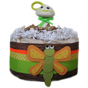 Organic Dragon Fly Diaper Pound Cake