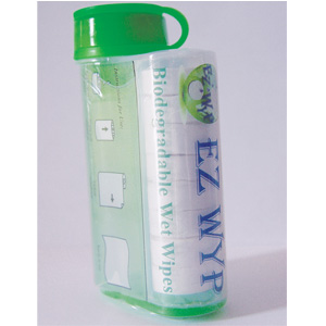 Ez WyP Eco Friendly Biodegradable Disposable Wipes