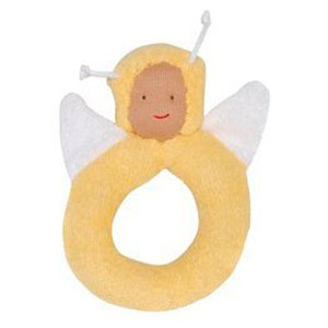 Organic Bumble Bee Teething Ring by Under the Nile