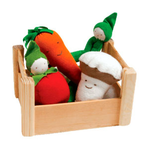 Organic Veggie Crate by Under the Nile