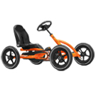 Berg Buddy Pedal Kart - Orange