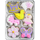 Organic Cookies Gift Set - New Baby Girl