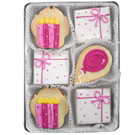 Organic Cookies Gift Set - Pink Birthday