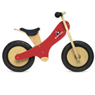 Kinderfeets - Red Chalkboard Balance Bike
