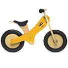 Kinderfeets - Yellow Chalkboard Balance Bike