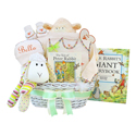 Personalized Lullabies & Tales Baby Gift Basket