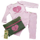 Organic Baby Pink Outfit Kit - Love