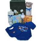 Organic Baby Gift Box - Baby Essentials - Boys