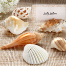 Shell Placecard Holders with Cards (Set of 6)